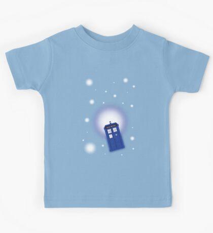TARDIS In Space Kids Tee
