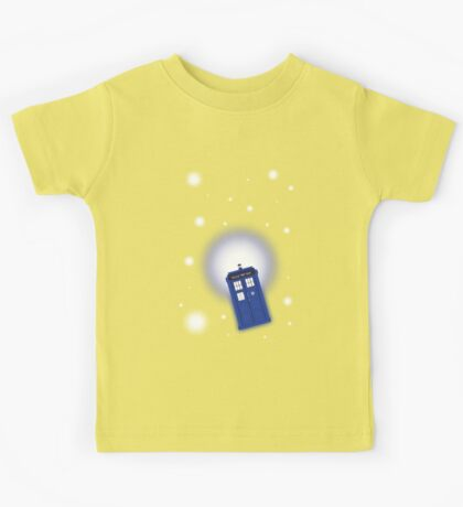 TARDIS In Space Kids Tee