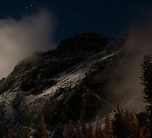 Moonlight on Sentinel Dome by Jimson Carr