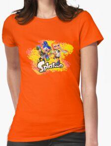 Splatoon Inklings Womens Fitted T-Shirt