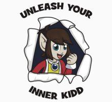 Unleash Your Inner Kidd - Alex Kidd Baby Tee