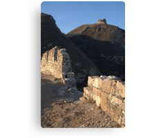 Sunrise at the Wall Canvas Print