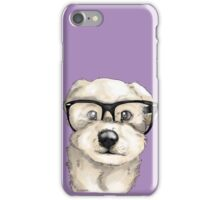 Nerd Dog  iPhone Case/Skin