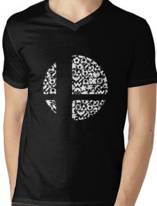 Brawl Mens V-Neck T-Shirt