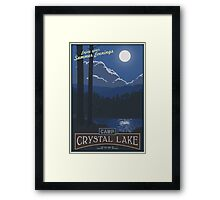 Horrible Summer Camp Framed Print