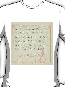 The Baby's Opera - A Book of Old Rhymes With New Dresses - by Walter Crane - 1900-26 Three Blind Mice T-Shirt