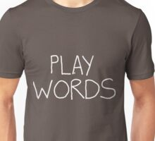Play on Words (no black shapes in the letters) T-Shirt