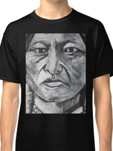 Trip-O-Vision Online Gallery Design 41: Sitting Bull Painting Classic T-Shirt