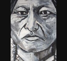 Trip-O-Vision Online Gallery Design 41: Sitting Bull Painting Unisex T-Shirt