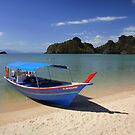 Langkawi Blue Boat by Scott Harding
