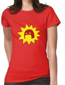 The Crimson Bolt Womens Fitted T-Shirt