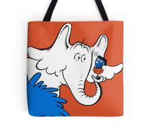Horton Hears Doctor Who! Tote Bag