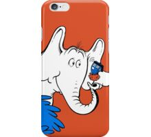 Horton Hears Doctor Who! iPhone Case/Skin