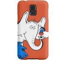 Horton Hears Doctor Who! Samsung Galaxy Case/Skin