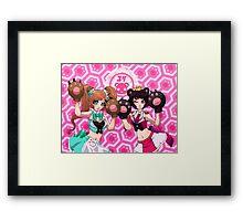 Yuri Bears Framed Print