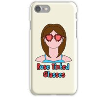 Rose Tinted Glasses iPhone Case/Skin