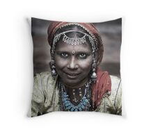 ' Rajasthan Beauty ' Throw Pillow