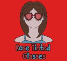 Rose Tinted Glasses One Piece - Long Sleeve