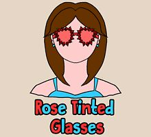 Rose Tinted Glasses Womens Fitted T-Shirt