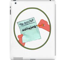 To Dolist - Nothing iPad Case/Skin