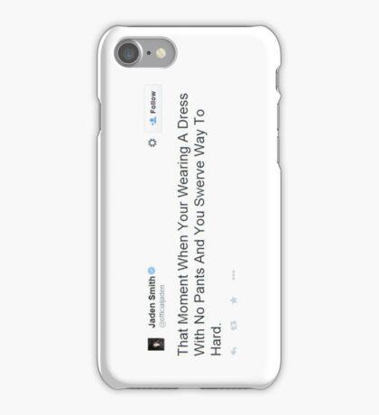 Jaden Tweet  - Swerving in a Dress iPhone Case/Skin