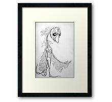Sillustria Framed Print