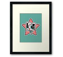 Jigglypuff Girl! Framed Print