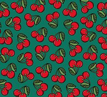 CHERRY - EMERALD by tosojourn