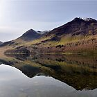 Buttermere Reflections by Chris Monks