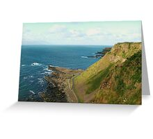 The  Giant's Causeway from a High Greeting Card