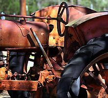 Rusty Tractor by Catherine Sherman