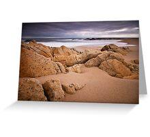 Coastal Scene, south of Granite Harbour Greeting Card