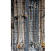 Barnsiding Tied Up in Knots  Photographic Print
