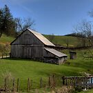 Barn by the Stream by Jane Best