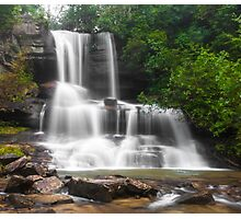 Cascading Waterfall Photographic Print