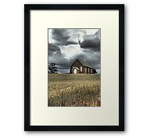 Church at Wallendbeen Framed Print