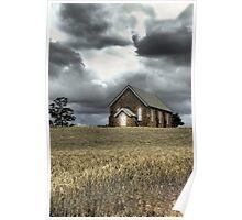Church at Wallendbeen Poster