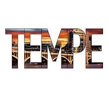 Tempe Town Lake Photographic Print