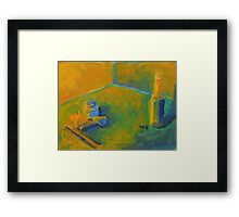 A World In Color Framed Print
