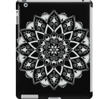 Mandala - White/Black iPad Case/Skin