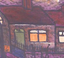 Benwell post office by sword