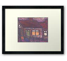 Benwell post office Framed Print