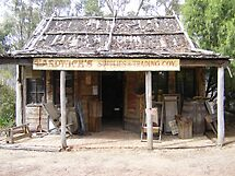 Porcupine village general store by David Smith