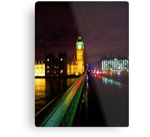 Westminster Bridge Without Daleks Metal Print