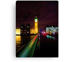 Westminster Bridge Without Daleks Canvas Print