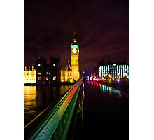 Westminster Bridge Without Daleks Photographic Print