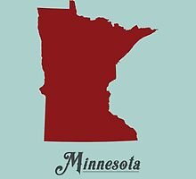 Minnesota - States of the Union by Michael Bowman