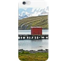 Whaling Station Dock iPhone Case/Skin