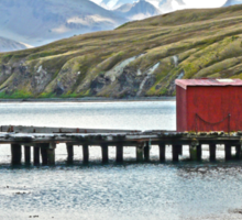 Whaling Station Dock Sticker