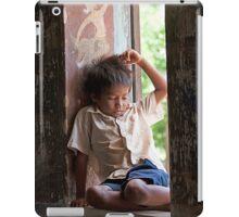 Boy in the Window iPad Case/Skin